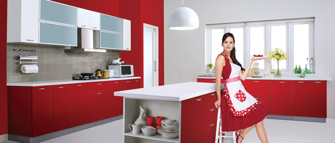 Beau GODREJ MODULAR KITCHEN