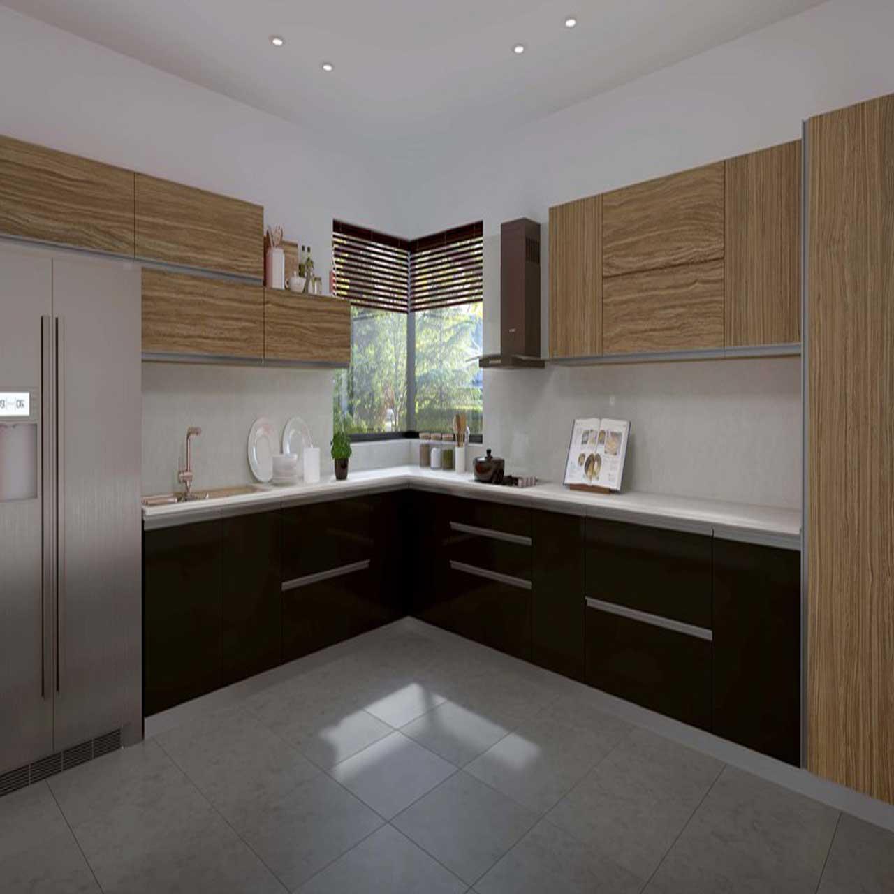 U Shaped Modular Kitchen: L Shaped - U Shaped - Parallel Modular Kitchen